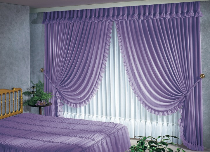 raffgardinen garnitur gardinen bader. Black Bedroom Furniture Sets. Home Design Ideas