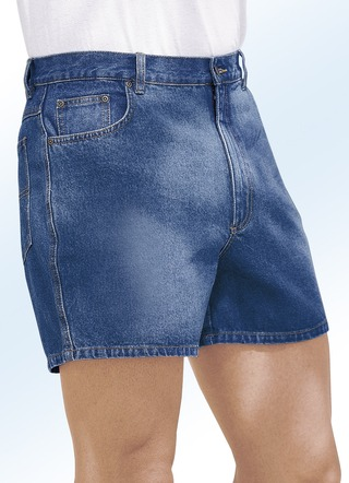 Shorts in 5-Pocket-Form aus reiner Baumwolle