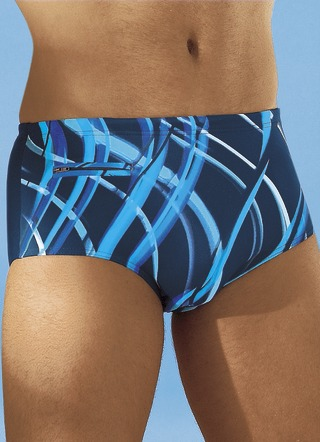 Palm Beach Badehose in höherer Slipform