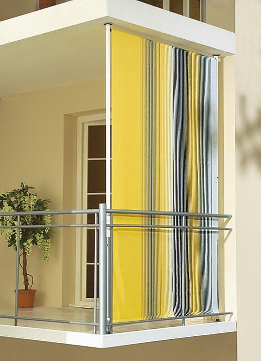 Sichtschutz Und Sonnenschutz   Balkon Seitensichtschutz , In Größe 120  (Breite 120 Cm)