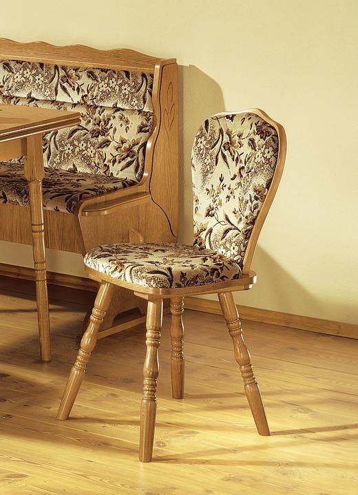 Stühle 2er Set Eiche Rustikal Möbel