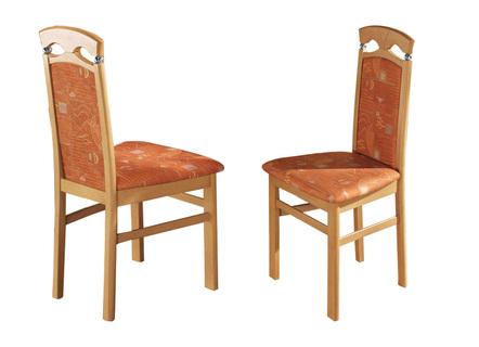 Stühle, 2er Set, Aus Massivem Hartholz