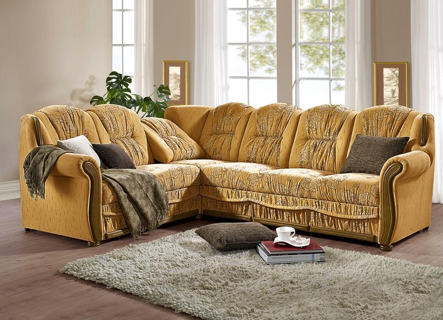polsterecke in l form in verschiedenen ausf hrungen wohnzimmer bader. Black Bedroom Furniture Sets. Home Design Ideas