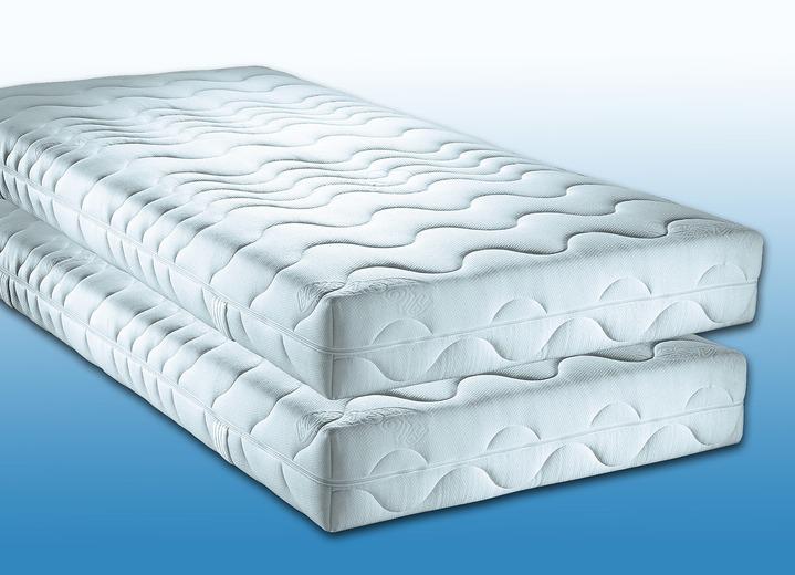 7 zonen matratzen 2er set verschiedene ausf hrungen matratzen topper bader. Black Bedroom Furniture Sets. Home Design Ideas