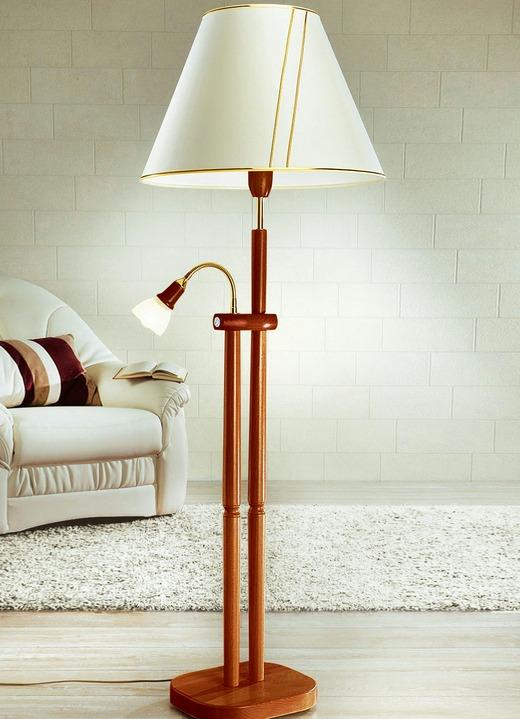 stehleuchte mit leselampe verschiedene farben klassische m bel bader. Black Bedroom Furniture Sets. Home Design Ideas