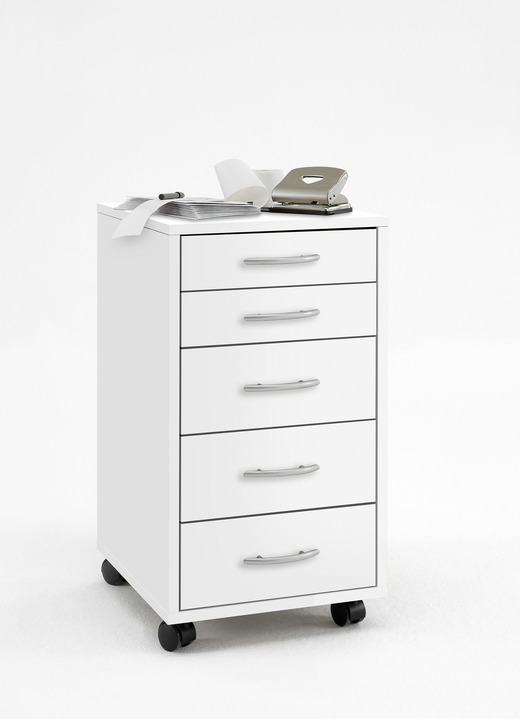 Rollcontainer mit 5 Schubladen - Büromöbel | BADER