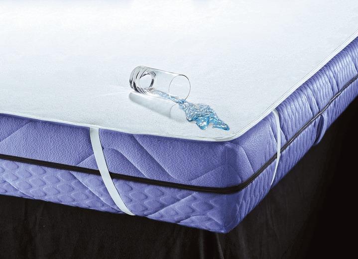 matratzen schutzauflage matratzen topper bader. Black Bedroom Furniture Sets. Home Design Ideas