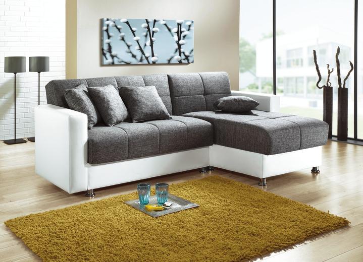 Moderne Möbel   Polstermöbel In Verschiedenen Ausführungen, In Farbe WEISS  GRAU, In Ausführung