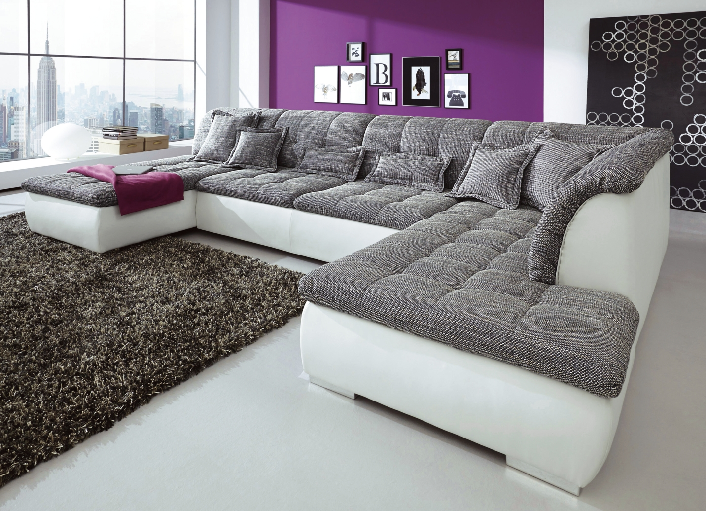 polsterecke in verschiedenen ausf hrungen wohnzimmer bader. Black Bedroom Furniture Sets. Home Design Ideas