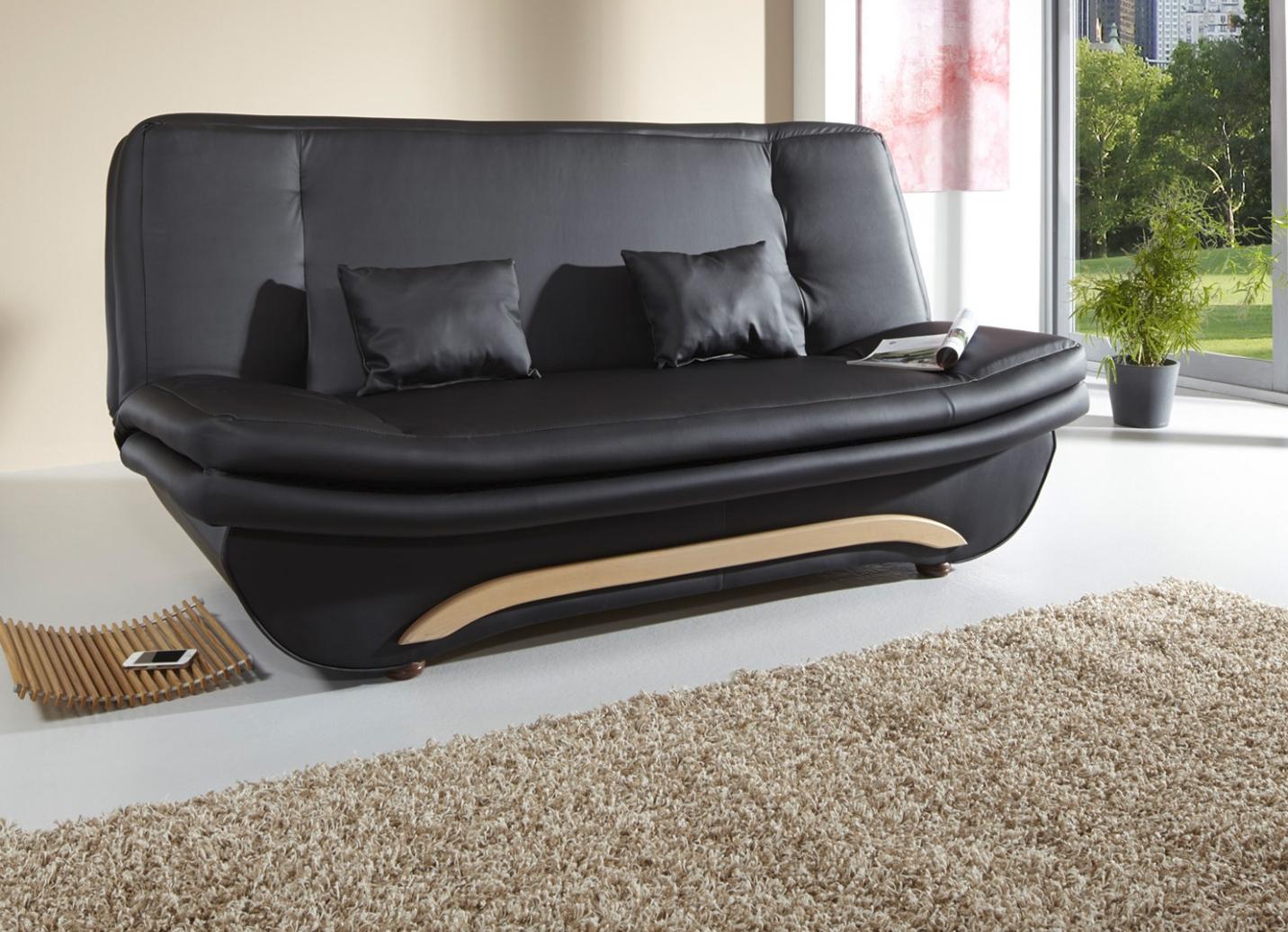 schlafsofa in verschiedenen farben moderne m bel bader. Black Bedroom Furniture Sets. Home Design Ideas