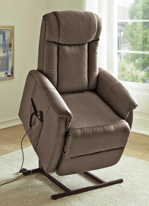 TV-Sessel mit Motor und Aufstehhilfe in verschiedene Farben ...