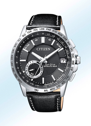"""Citizen""-Solar-Herrenuhr mit Satellite Timekeeping System"