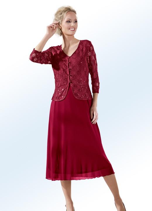 Party kleid in stilvoller 2 in 1 optik in 2 farben - Bader festliche kleider ...