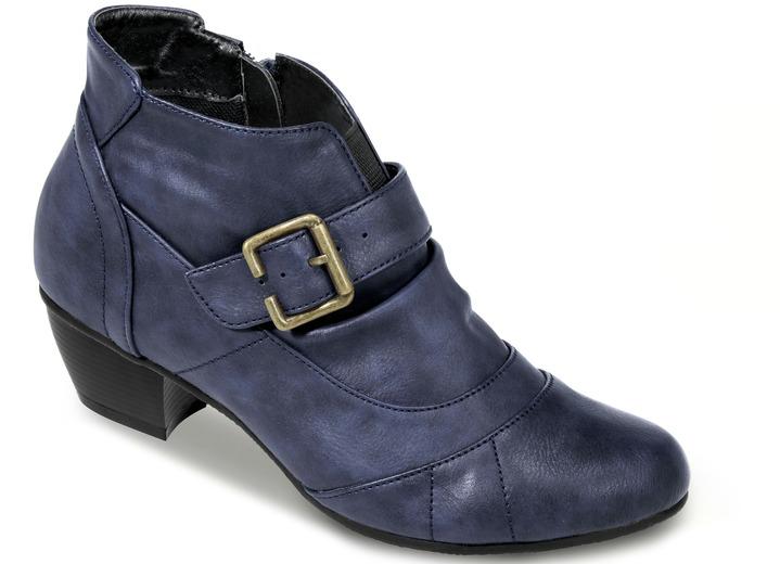 4be014806321e3 Stiefel   Stiefeletten - Attraktive Stiefelette in 4 Farben mit verstellbarer  Zierspange