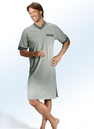 quality design 60c89 389ec Nachthemden für Herren: Nachtwäsche mit viel Bewegungsfreiheit