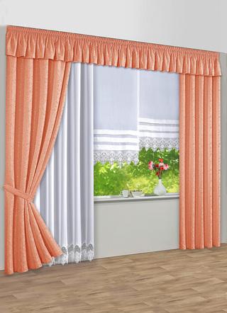 bergardinen garnitur in verschiedenen farben gardinen. Black Bedroom Furniture Sets. Home Design Ideas