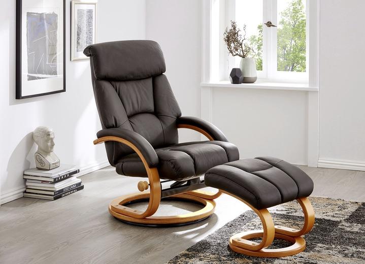 Relax-Sessel mit Hocker - Polstermöbel | BADER