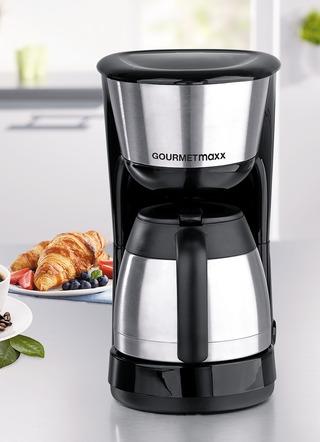 gourmetmaxx thermo kaffeemaschine elektrische k chenger te bader. Black Bedroom Furniture Sets. Home Design Ideas