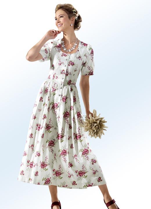 Landhauskleid mit durchgehender schmuckknopfleiste - Bader festliche kleider ...