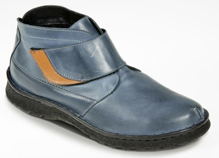 Angebot Freiraum suchen Ausverkauf Flotte Stiefelette in 2 Farben mit herausnehmbarer Decksohle, Weite K
