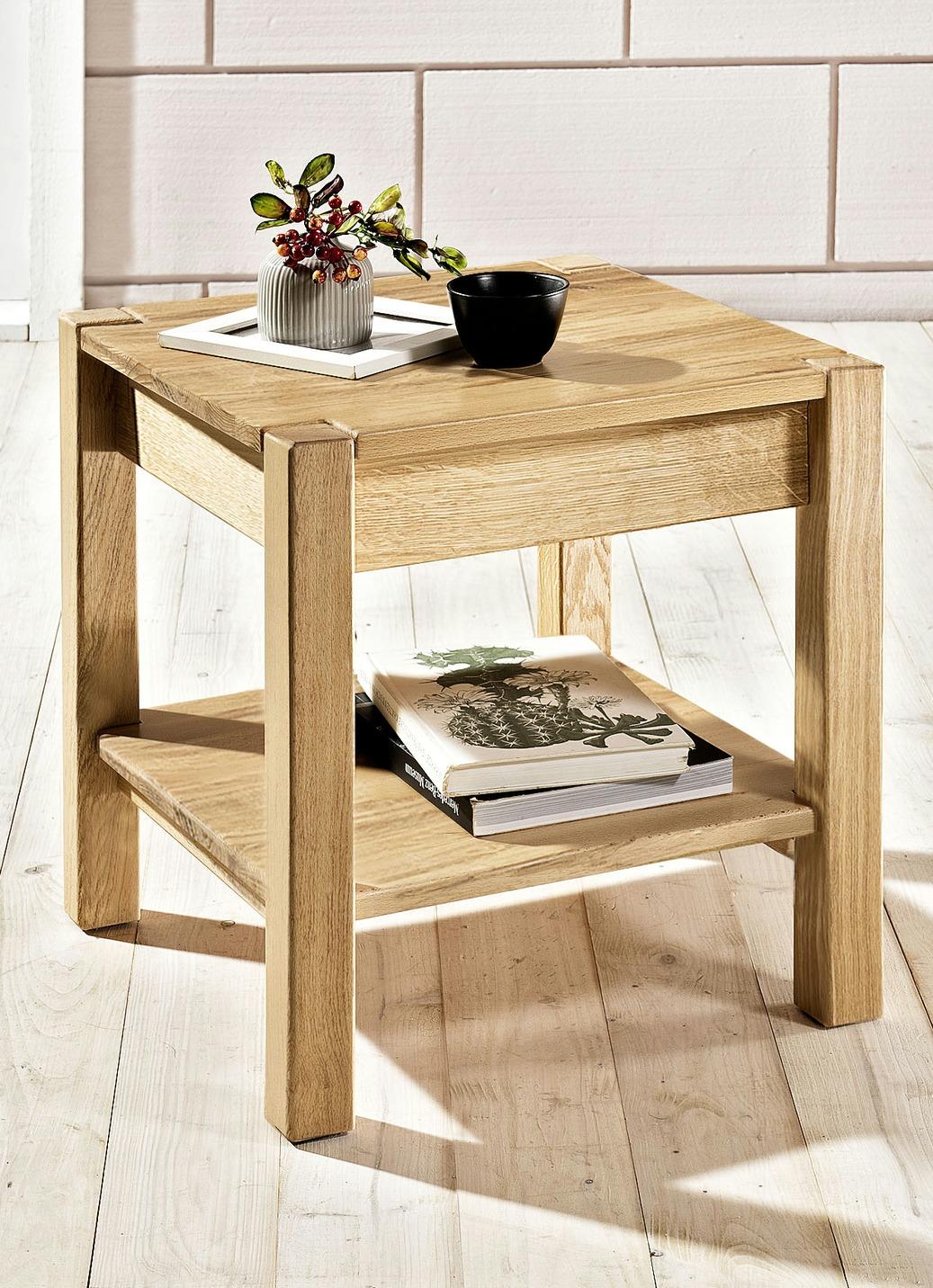 beistelltisch aus massivholz verschiedene ausf hrungen. Black Bedroom Furniture Sets. Home Design Ideas