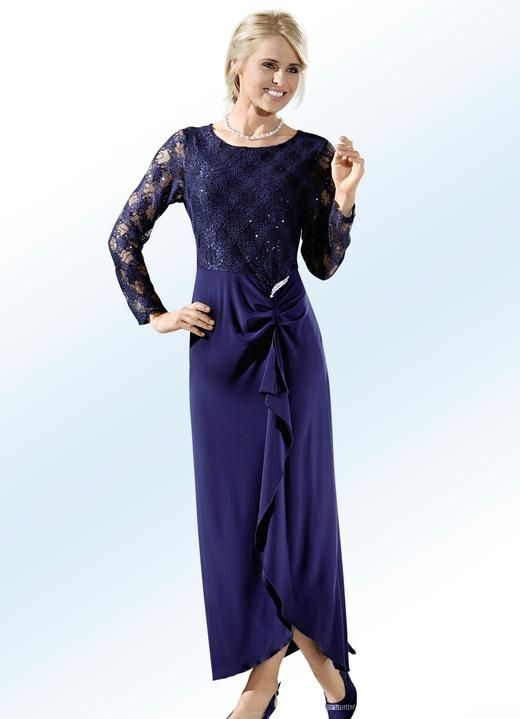 Party-Kleid mit abnehmbarer Schmuckbrosche - Kleider | BADER