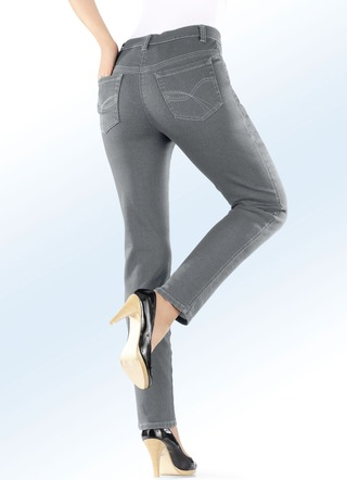 Power-Stretch-Jeans in 4 Farben