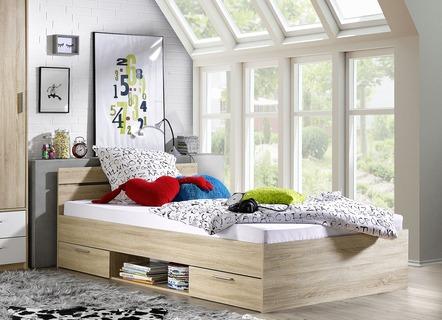 Komfortables Bett Mit 2 Schubladen Betten Bader