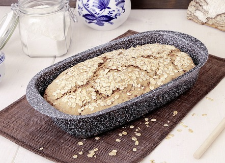 Brotbackset, 3-teilig, in Granit-Optik