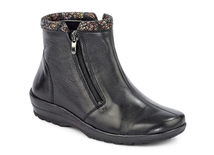 Rabattgutschein toller Wert suche nach authentisch Stiefelette mit herausnehmbarem Fußbett, Weite K