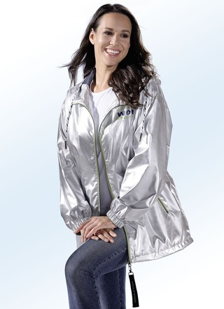 Jacke in topaktueller Metallic-Optik