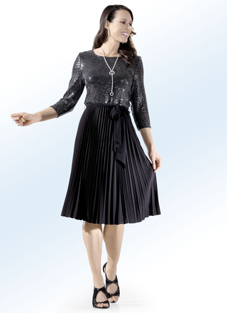Party-Kleid mit Chiffon-Bindeband