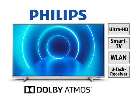 Philips 4K-Ultra-HD-Smart-LED-Fernseher