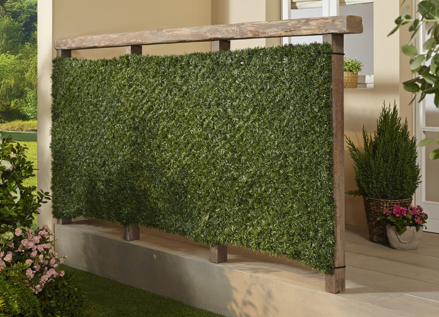 sichtschutzhecke sichtschutz und sonnenschutz bader. Black Bedroom Furniture Sets. Home Design Ideas