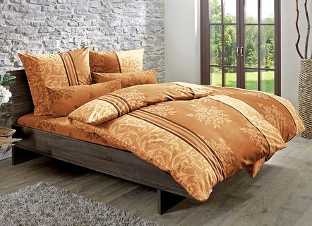 Bettwäsche Garnitur In Einem Sehr Eleganten Dessin, Verschiedene Farben