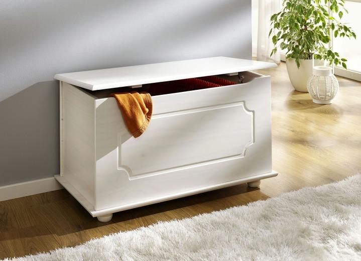 sitztruhe in verschiedenen farben kleinm bel bader. Black Bedroom Furniture Sets. Home Design Ideas