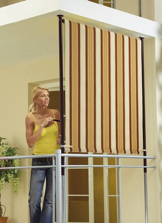 sonnenschutz f r balkon garten und terrasse im bader. Black Bedroom Furniture Sets. Home Design Ideas
