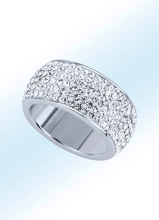 Memoire-Ring in Silber