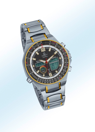 """Quality-Time""-Funk-Solar-Chronograph"