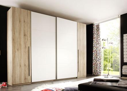 Kleiderschrank mit viel Stauraum – ideal für Ihr Schlafzimmer geeignet