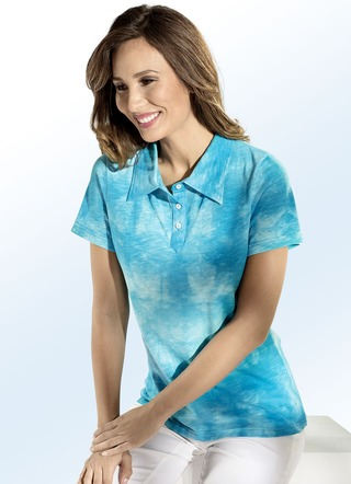 Shirtbluse in toller Batik-Optik