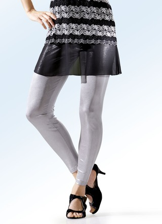 Fein schimmernde Leggings