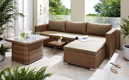 Garten- und Balkonmöbel in schicken Designs und hübschen Farben
